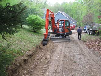 Andover CT driveway paving