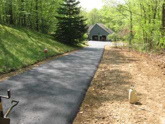 Andover CT driveway paving