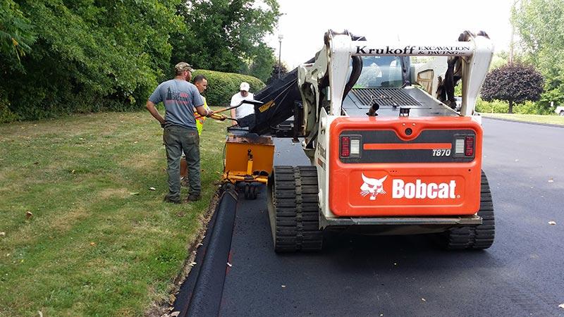 Krukoff Paving Curbing Installation