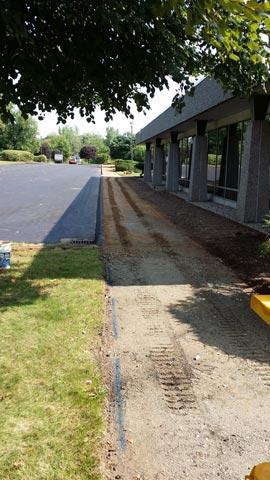 sidewalk installation Stanadyne