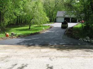 Canterbury CT driveway paving