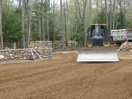 Landscaping and grading northeastern CT