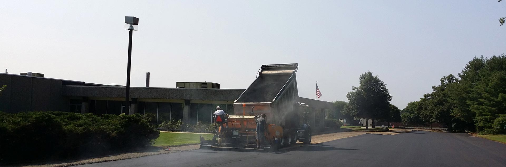 Commercial Paving Contractor Northeastern CT
