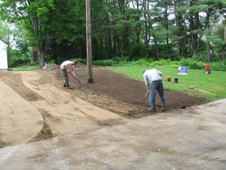 Mansfield Hollow Driveway repair