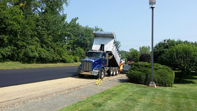 stanadyne parking lot paving Wilton CT
