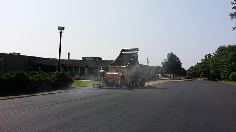 commercial paving contractor in connecticut